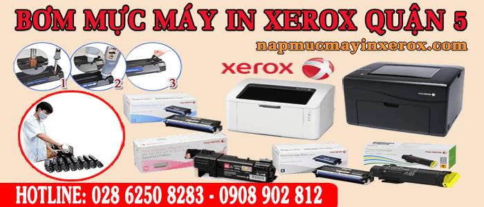 bơm mực máy in Xerox quận 5