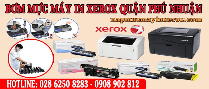 bơm mực máy in Xerox quận Phú Nhuận