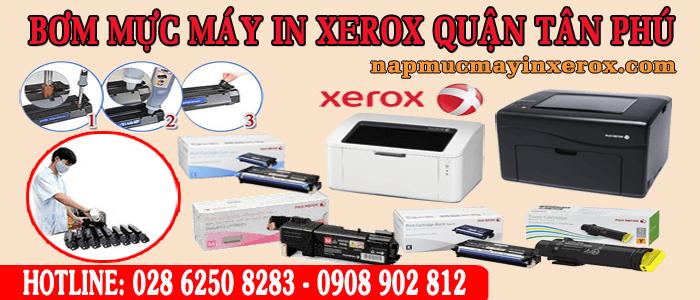bơm mực máy in Xerox quận Tân Phú